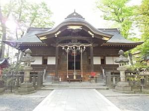 安積国造神社拝殿